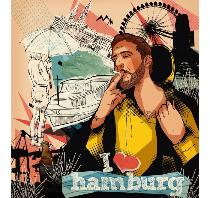 """""""I love Hamburg"""""""