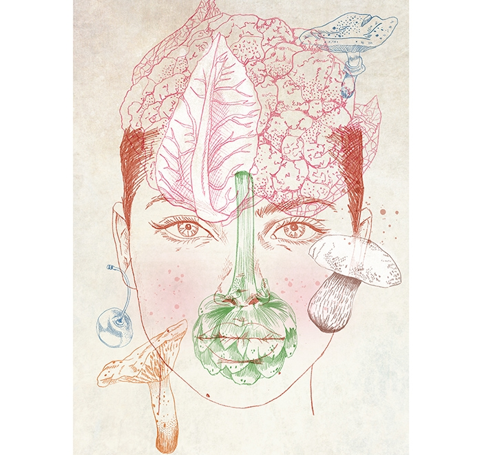 """Veggie Face"""