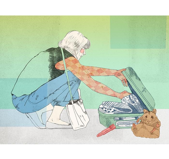 """Astrid leaves"""