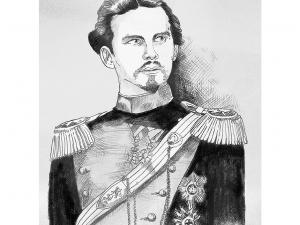 """König Ludwig  II"""