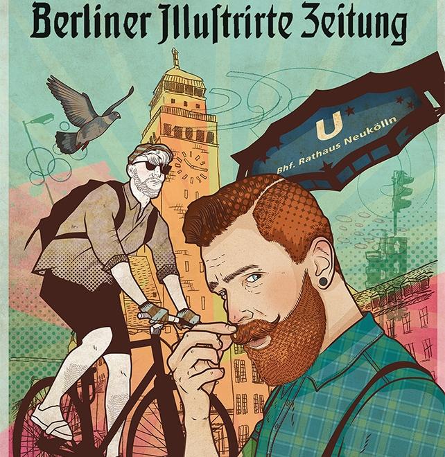 """""""Hipster in Neukölln"""""""