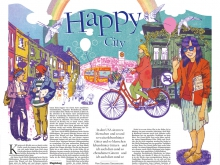 """Happy City"" / Tagesspiegel"