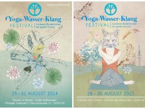 Yoga · Wasser · Klang Festival 2014 /2015