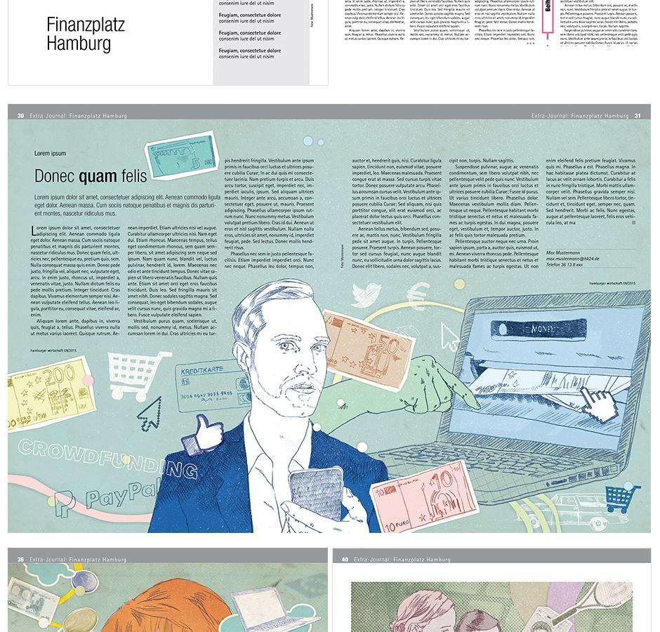 Hamburger Wirtschaft / Finanzen